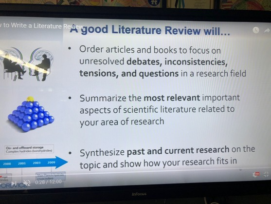 Bibliography & Literature Review Materials | MR  NELSON'S